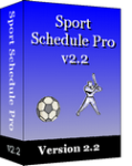 Sport Schedule Pro Version 2.3